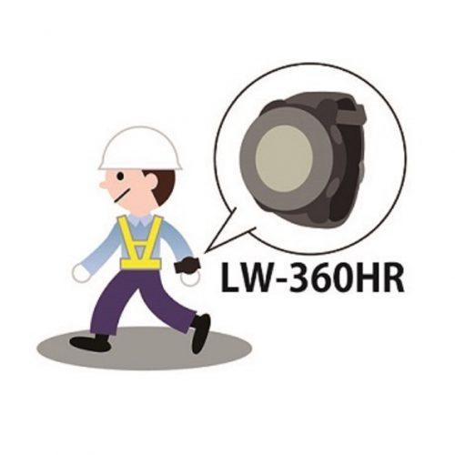 ウェアラブルLoRaトラッカー LW-360HRの製品画像3
