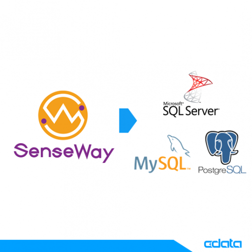 RDB(MySQL・PostgreSQL・SQL Server)に SenseWayデータを連携:CDataSync の画像