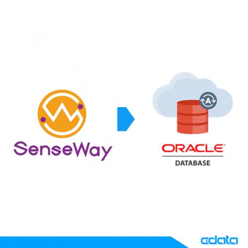 Oracle に SenseWayデータを連携:CDataSync の画像