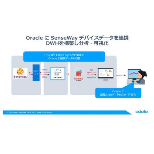 Oracle に SenseWayデータを連携:CDataSync の製品画像2