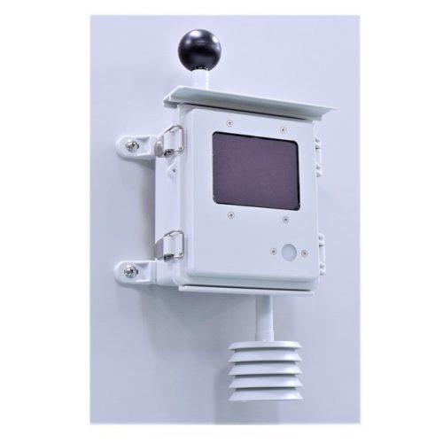 LoRaWAN黒球一体型 WBGT屋外センサノード FSN4062L-ODの画像