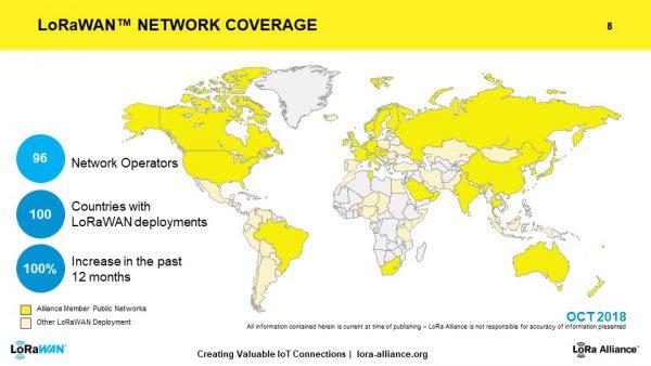 LoRaWAN™ NETWORK COVERAGE