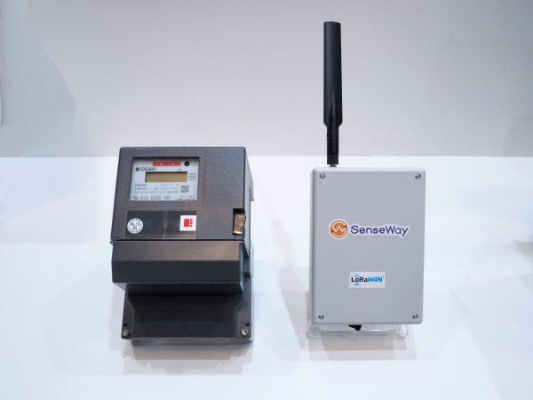 大崎電気スマートメーターとセンスウェイLoRaWANルーター