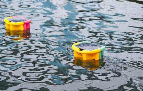 「海岸から船上のセンサーまで8㎞の通信に成功 LoRaWANで消費電力を1/10に削減」のアイキャッチ画像